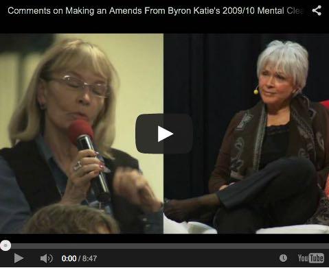 Video The Work Byron Katie Wiedergutmachung