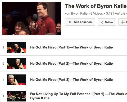 Video The Work Byron Katie Beruf