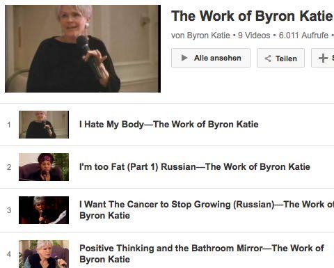 Video The Work Byron Katie Gesundheit