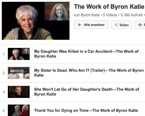 Video Byron Katie Tod