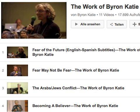 Video Byron Katie Angst