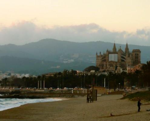 Stadtstrand Palma de Mallorca